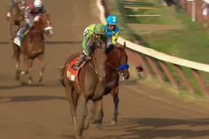 Keen Ice defeats American Pharoah at Travers Stakes