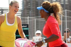 Victoria Azarenka on facing Serena Williams