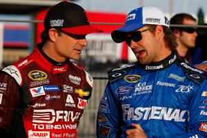 Ricky Stenhouse, Jr. on  Jeff Gordon
