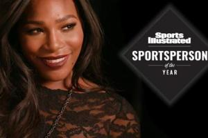 Behind the scenes with Serena Williams the 2015 Sportsp...