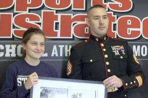 High School Athlete of the Month: Hannah DeBalsi receiv...