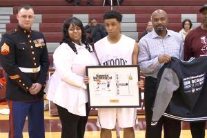 Tim Hardaway Sr. honors High School Athlete of the Mont...