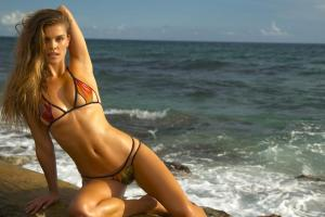 Nina Agdal Intimates Virtual Reality 2016