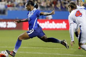 Crystal Dunn scores 5 goals for USWNT