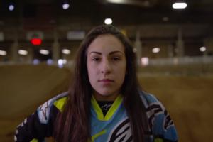 Sophia Foresta rides to top of BMX racing world