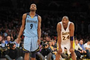 Kobe Bryant calls Tony Allen his 'best defender,' via signed shoes