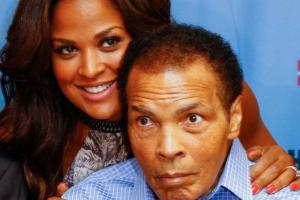 Laila Ali on Muhammad Ali's condition