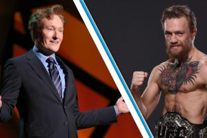 Conor McGregor owns Conan O'Brien in UFC 2