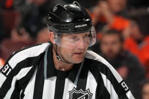 Linesmen checked by Dennis Wideman out for season