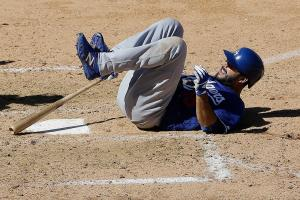 Dodgers OF Andre Ethier to miss 10-14 weeks with fractured tibia
