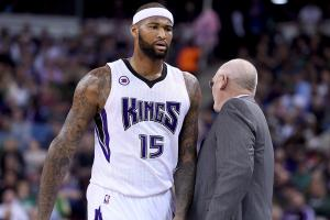 DeMarcus Cousins takes shot at coach George Karl after win IMAGE