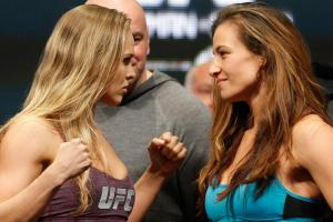 Miesha Tate thinks Rondy Rousey will only fight 'one or...
