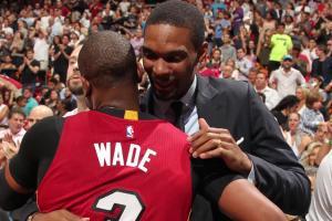 Chris Bosh gives emotional address to teammates