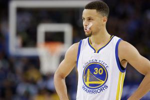 Steph Curry hurts ankle in Warriors vs. Rockets playoff...