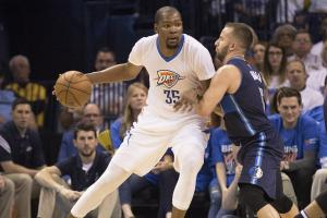 Will a deep run help Oklahoma City Thunder secure Kevin...