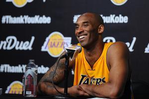 Kobe Bryant vows to stay in spotlight