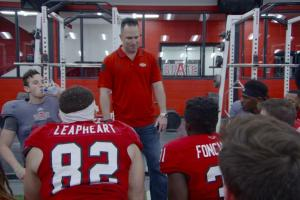 Coach for a day: Thayer Evans takes over Arkansas State...