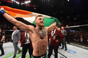 Conor McGregor let's his displeasure known using Facebo...