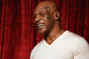 Mike Tyson photoshops face onto Prince album in tribute