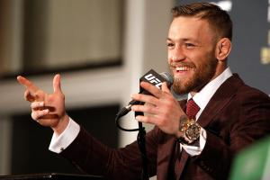 Jon Jones respects Conor McGregor 'for standing up'