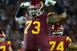 USC offensive linemen make the most out of getting stuc...