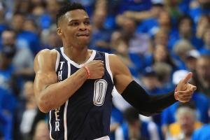 Russell Westbrook tells fan to 'shut the f--- up'