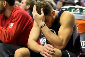 Clippers' Blake Griffin (quad) out for remainder of pla...
