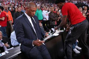 Clippers' Doc RIvers emotional before Game 5