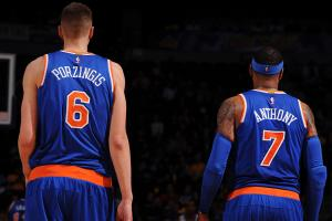 Carmelo Anthony: Kristaps Porzingis should get stronger