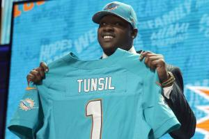 Laremy Tunsil's dramatic night steals show