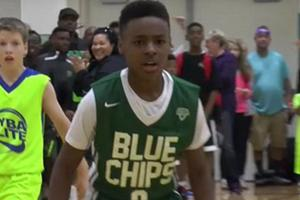 Meet 11-year old Lebron James Jr.