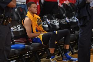 Curry shoots at Warriors practice, not ruled out for Ga...