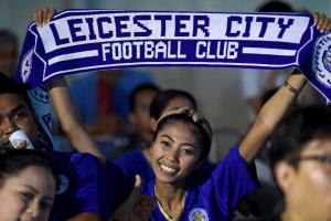 Leicester City claims first Premier League title