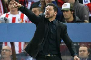 Atletico Madrid manager hits team staffer during match