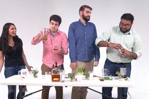A race to make the best Mint Julep for the Kentucky Der...