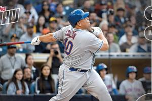 Bartolo Colon home run baseball card shatters Topps record