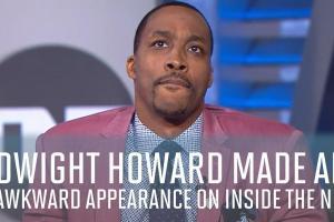 Watch: Dwight Howard grilled on Inside the NBA