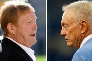 Report: Jerry Jones pushing Mark Davis to sell Raiders