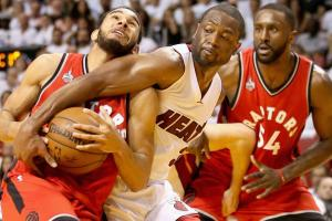 Heat looking for a fight in Game 7 against Raptors