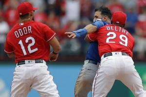 Here's why Rougned Odor was suspended for eight games