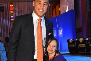 Suns' Devin Booker brought special guest to NBA lottery