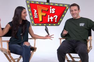 Comedian Dan Soder plays 'How F is it?'