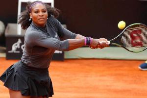 Serena Williams stars in new trick shot video