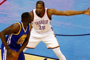 Give and Go: Durant, Thunder standing tall in face of W...