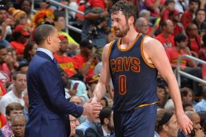 Have Tyronn Lue, Cavs lost faith in Kevin Love?