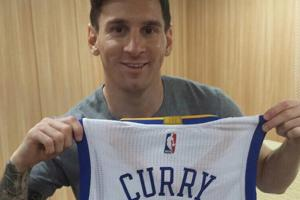 Inside the Lionel Messi-Steph Curry 'bromance'