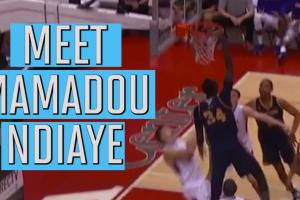 "Meet 7'6"" NBA draft prospect Mamadou Ndiaye"