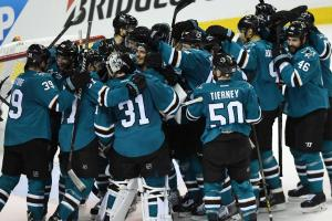 San Jose Sharks reach first Stanley Cup Final