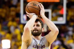 Cavaliers get Kevin Love's best in Game 5