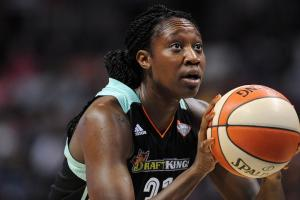 Tina Charles: Lowering WNBA rim would be 'smack to the...
